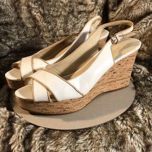 2 for $20 Nine West patent platform heels